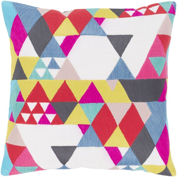 Annika 100% Cotton Pillow Cover by Ivy Bronx